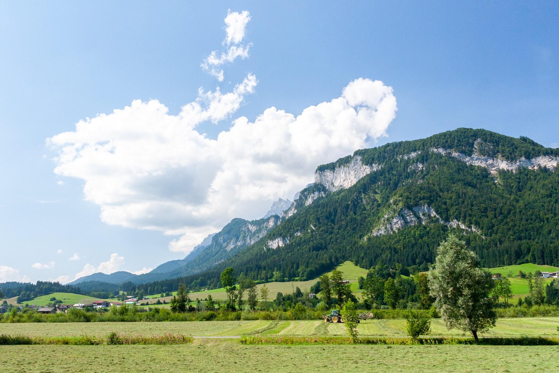 vakantie vieren in salzburgerland